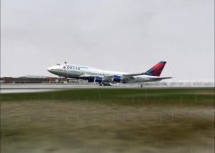 Delta landing at JFK RWY 31L