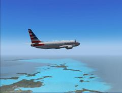 American descending into TNCM