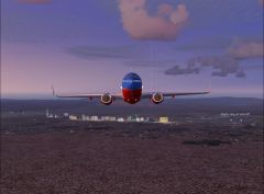 Departing LAS