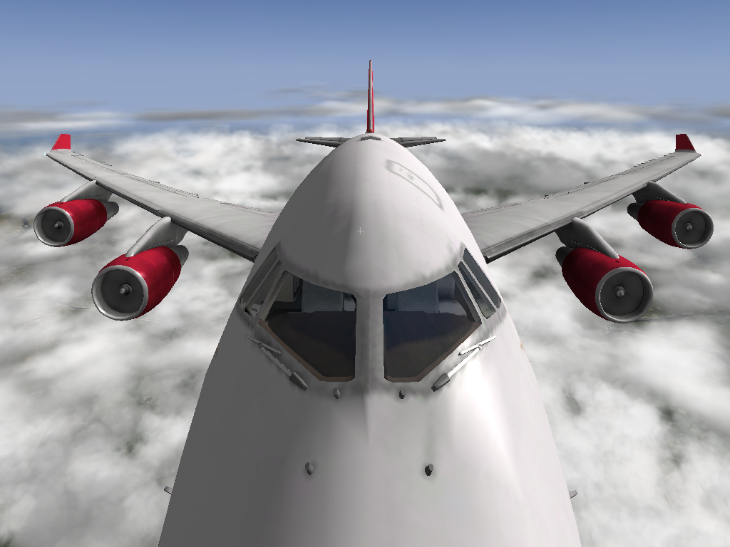 B747-400 Virgin Atlantic.