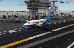 EMB 120 ON Flight Deck, In Cape Town, South Africa. XP 10, Only EMB 120 Add On.