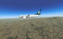 Travels around NZ   Eagle over NZSI 2