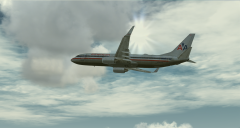 American Airlines Departure Out Of Logan Intl.